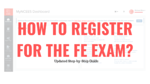 How to Register for the FE Exam